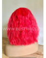 Synthetic lace front wig Curly Framboise hair EXTRA VOLUME
