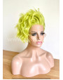 Pear Green Lace Front Short Wig