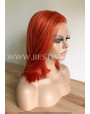 Synthetic lace front wig Straight Fire foxy short hair