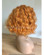 Synthetic lace front wig Wavy Ginger hair / Double volume