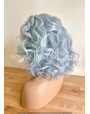 Synthetic lace front wig Curly hair / color Dusty sky