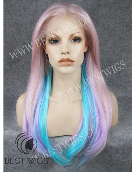Synthetic lace front wig long hair / Fantasy collection