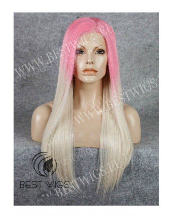 Synthetic lace front wig Stright long hair / Fantasy collection